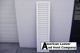 "12"" w x 48"" h rectangle gable vent"