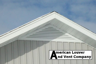 """6/12 pitch, 72"""" base Triangle Gable Vent"""