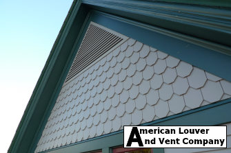 Certainteed: Granite Grey Triangle Gable Vent