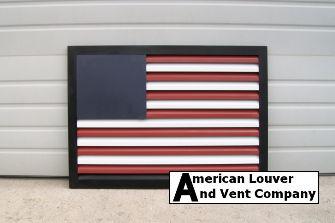 American Flag Rectangle Gable Vent