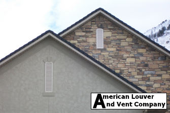 Arch-Top Gable Vents