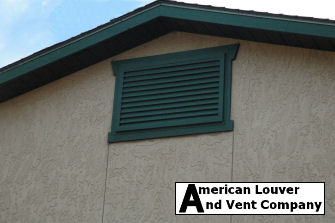 Horizontal Rectangle Gable Vent