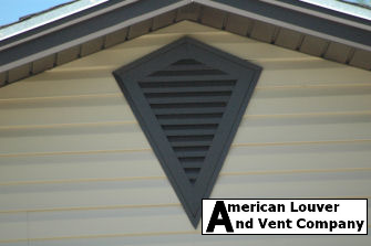 Custom Kite Shape Gable Vent