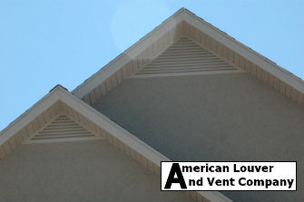 Triangle Gable Vents