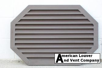 Horizontal Octagon Gable Vent