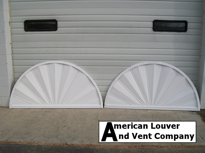 Half Round Gable Vent American Louver And Vent Company