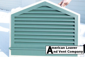 doghouse gable vent with sill