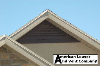 Triangle Gable Vent