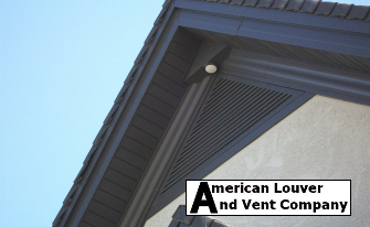 Dark Bronze Gable Vent