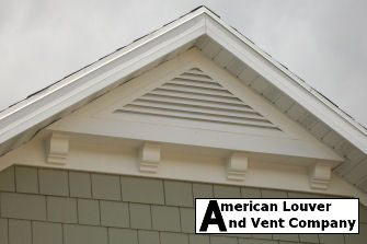 8/12 Pitch Triangle Gable Vent