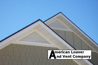 8/12 pitch Triangle Gable Vents