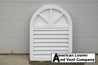 Wagon Wheel/Spoke Gable Vent