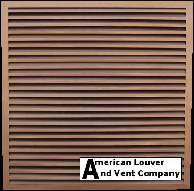 Designer Copper Rectangle Gable Vent