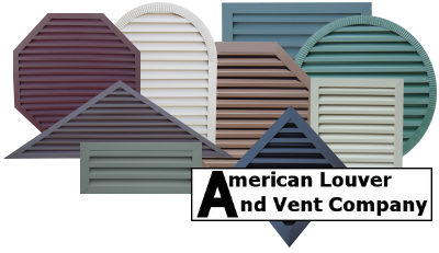 Gable Vents - Gable End Vents - Gable Louvers - Attic Vents - Attic Louvers