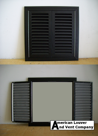 Hinged Gable Vent-Double Doors