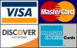 Visa Master Card Discover American Express