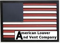 American Flag Gable Vent